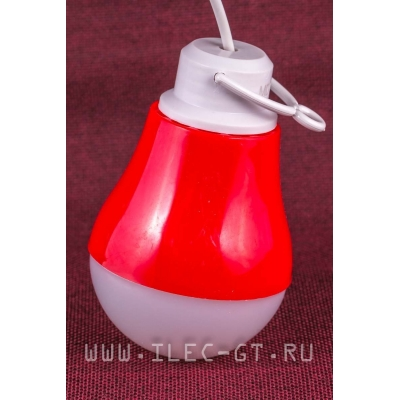 Красный Фонарик лампа usb