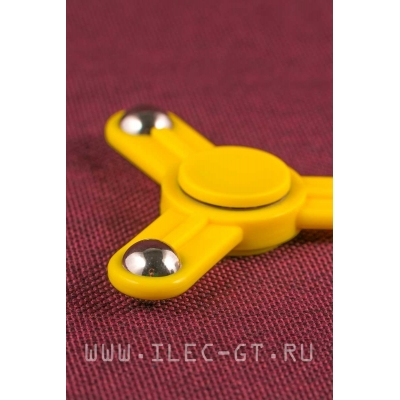 Желтый Hand spinner