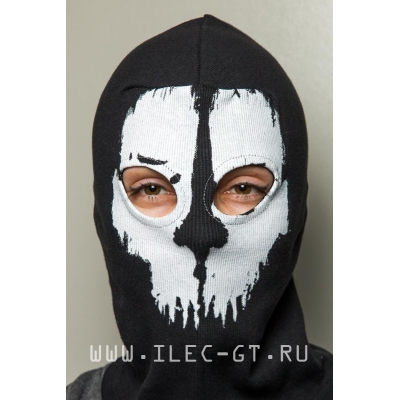 Балаклава маска с черепом