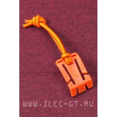 Клипса - карабин фиксатор, Web Dominator Оранжевый