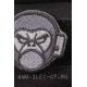 Нашивка на липучке MSM Monkey Head