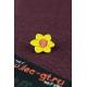 Цветок, значки на одежду