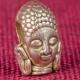 Металлическая бусина Будда. Купить бусину для паракорда