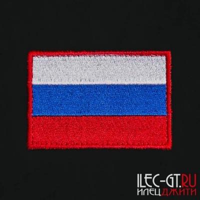 Военный шеврон флаг России