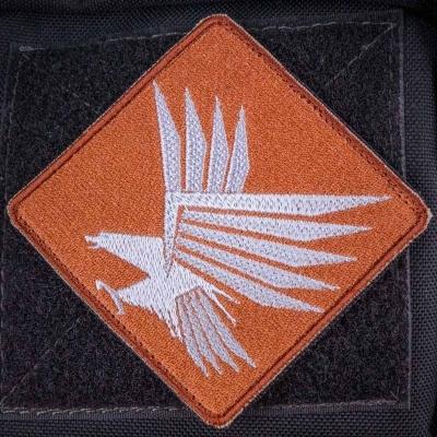 Нашивка орел на охоте