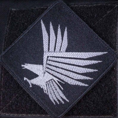 Нашивка стилизованный орел