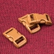 Коричневые пряжки застежки фастексы для браслетов выживания