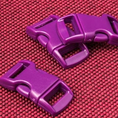 Фиолетовые пряжки застежки фастексы для браслетов выживания