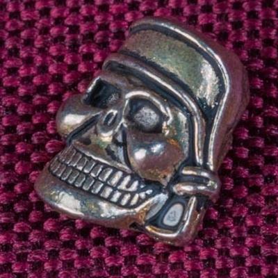 Бусина череп пирата