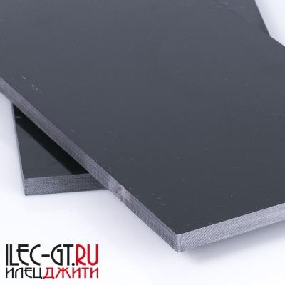 Плашка G10 250х130х8 мм. , черный материал для рукояти. Купить материал для ножа