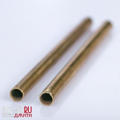 Трубка для рукояти ножа, латунь, 100 мм