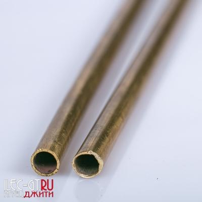 Трубка для рукояти ножа, латунь, 240 мм