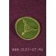 Зеленая круглая нашивка TAD GEAR 5 см