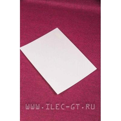 Фибра белая для проставки рукояти 190х140х0,5 мм