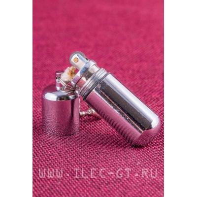 Зажигалка бензиновая в форме капсулы EDC