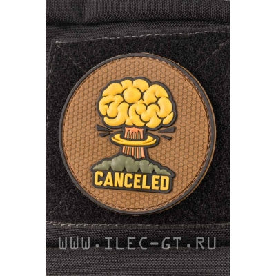 Нашивка explosions canceled