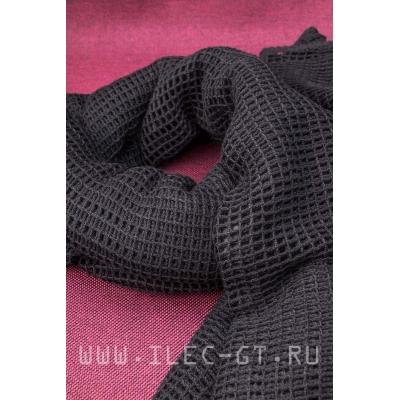 Черный тактический армейский шарф MIL-TEC