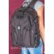 Черный большой рюкзак на двух лямках