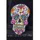 Нашивка мексиканский сахарный череп